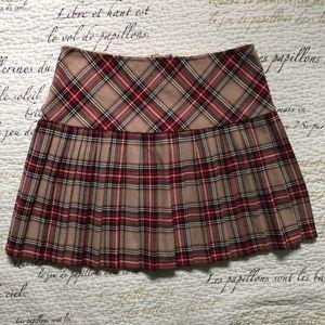 🔺4 FOR $20🔻 Vintage Plaid Mini Tennis Skirt